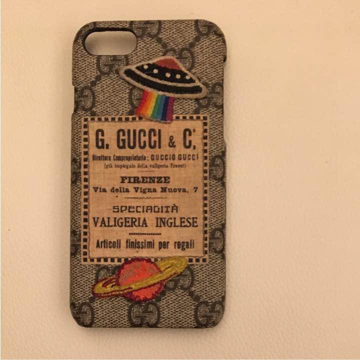 new product e8b5c b09ef グッチiPhone7 ケース