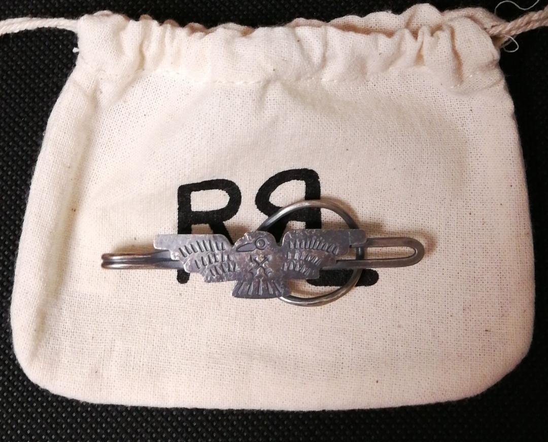 Sterling Silver Tie Bar Clip