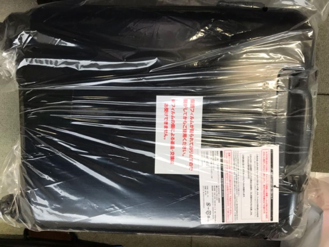 BLACK PINK くじ ラスト賞 キャリーケース ブラックピンク ローソン(¥18,480) , メルカリ スマホでかんたん フリマアプリ