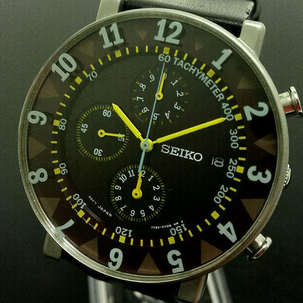cheap for discount fe87c 6f16f 200本限定SEIKOソットサス/クロノグラフ腕時計 メンズ 取扱説明書、箱付き(¥19,000) - メルカリ スマホでかんたん フリマアプリ