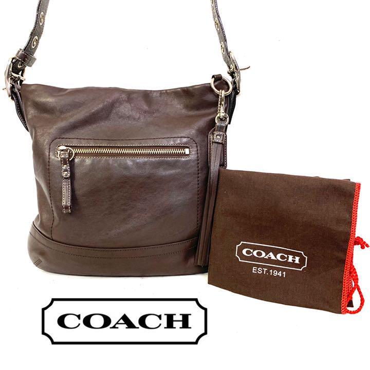 hot sale online 64542 9b0f7 coach コーチ レザー ショルダーバッグ ベルト シグネチャー(¥5,900) - メルカリ スマホでかんたん フリマアプリ