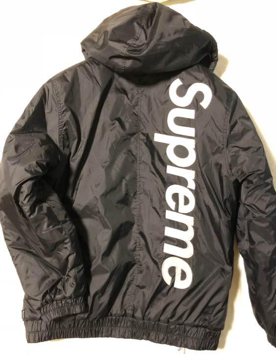 8a56998a851f メルカリ - supreme 2-Tone Hooded Sideline Jacket  ナイロン ...