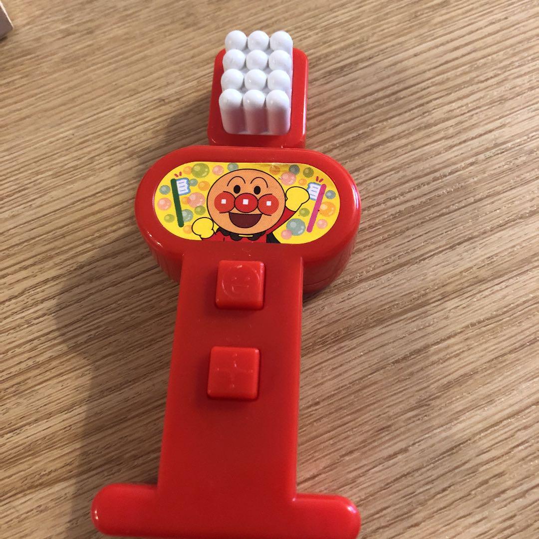 歯磨き 動画 アンパンマン