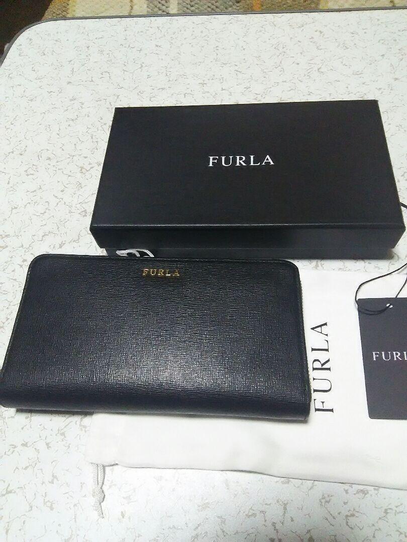 classic fit eadc1 b05a2 最終お値下 新品 フルラ FURLA 長財布 ブラック(¥13,800) - メルカリ スマホでかんたん フリマアプリ