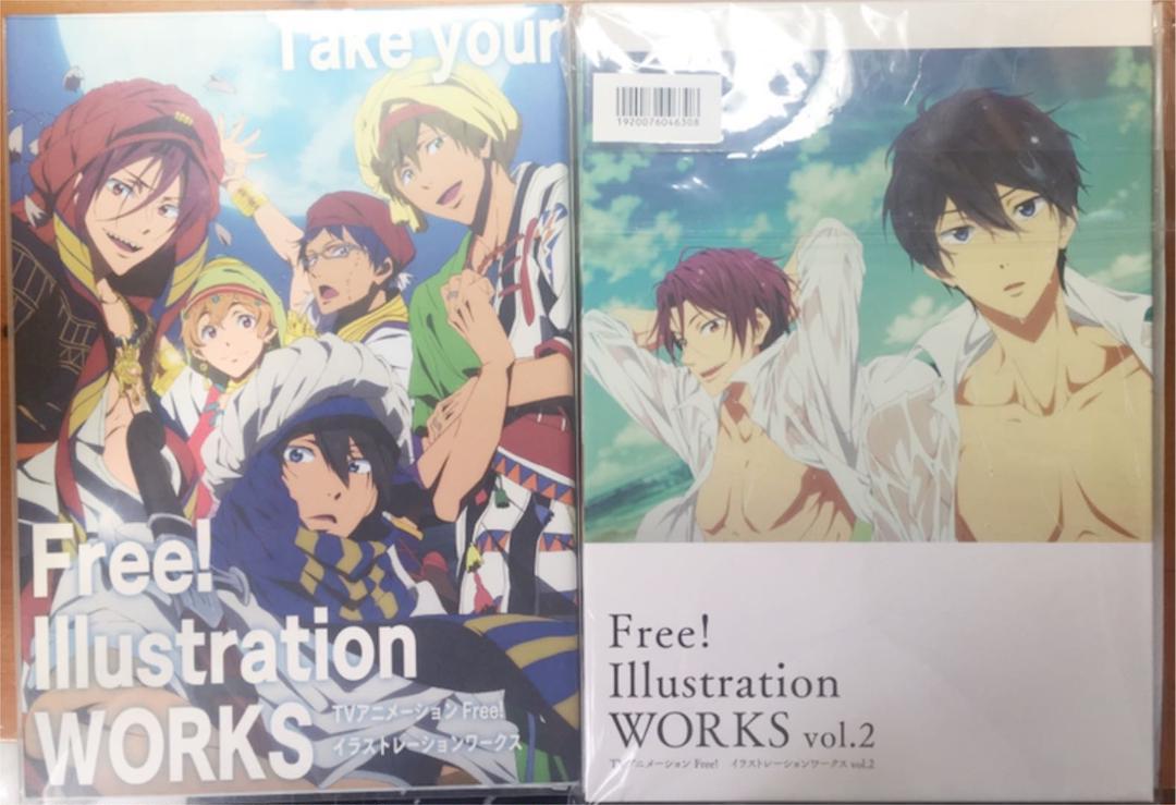 メルカリ Free イラストレーションワークス Vol 1 2 アニメ