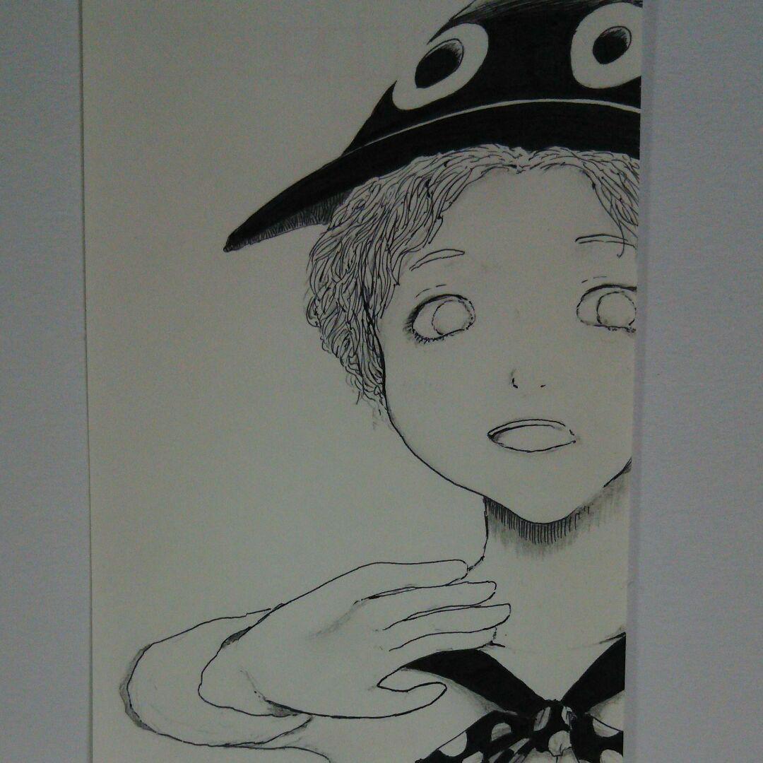メルカリ 手描きイラスト オリジナルイラスト 自作 目 Eye 女の子 鉛筆