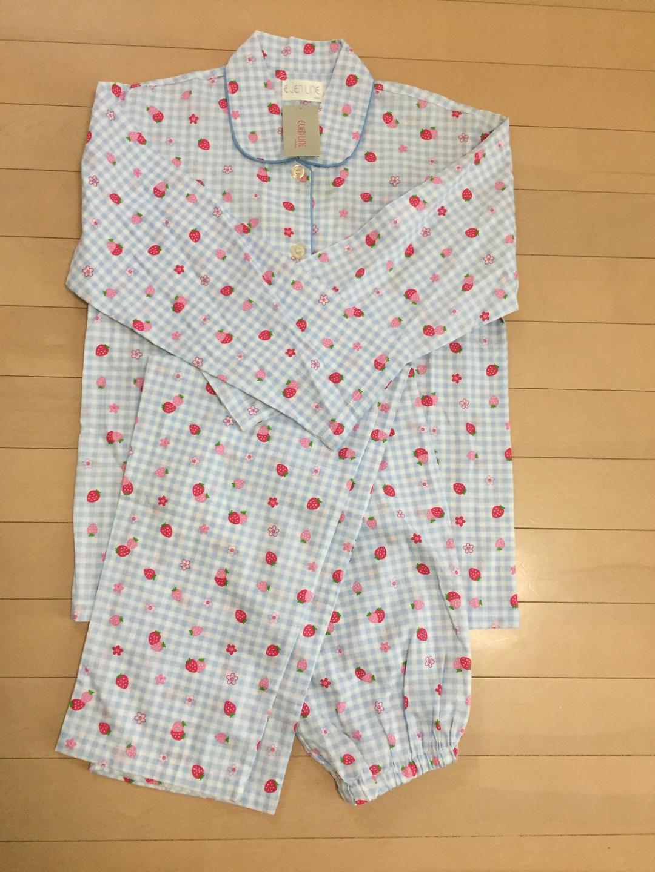803b397e10362a メルカリ - パジャマ セット 150 長袖 女の子 新品未使用 (¥1,400) 中古 ...