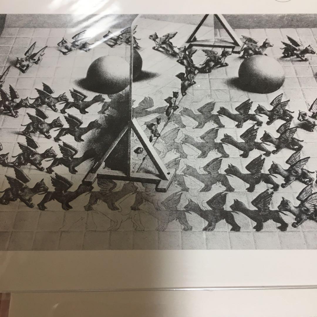メルカリ エッシャー ポストカード 個包装未開封6枚 美術品 400 中古や未使用のフリマ