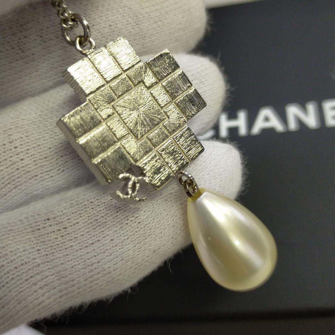 ◎【最終値下げ】CHANEL(シャネル)ストーンパールネックレス☆088