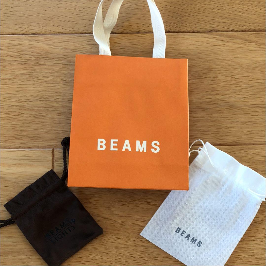 ビームス 紙袋 アクセサリーケース(¥350) , メルカリ スマホでかんたん フリマアプリ