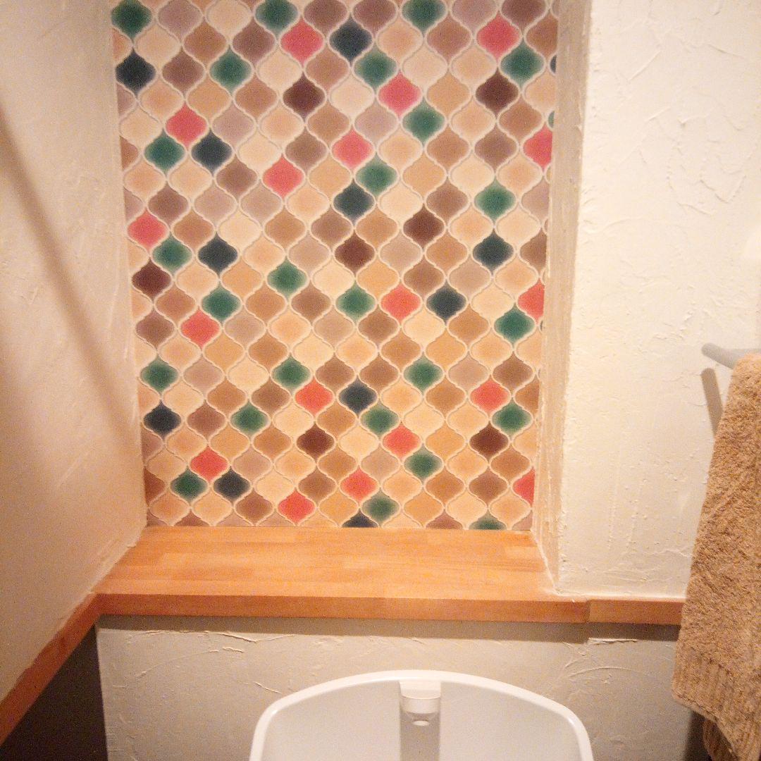 メルカリ L 壁紙 モロッコタイル柄 インテリア 住まい 小物 1 900 中古や未使用のフリマ