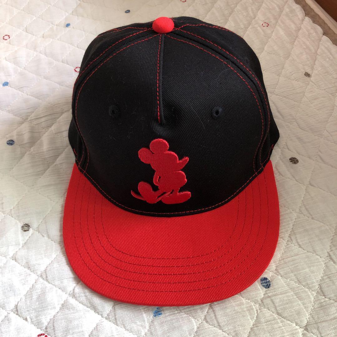 762b765625084 メルカリ - ディズニー 赤 キャップ 帽子 野球帽 レディース メンズ ユニ ...