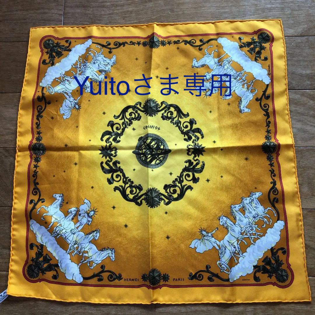 save off 95357 996f2 エルメス スカーフ カレ 45 オレンジ(¥9,000) - メルカリ スマホでかんたん フリマアプリ