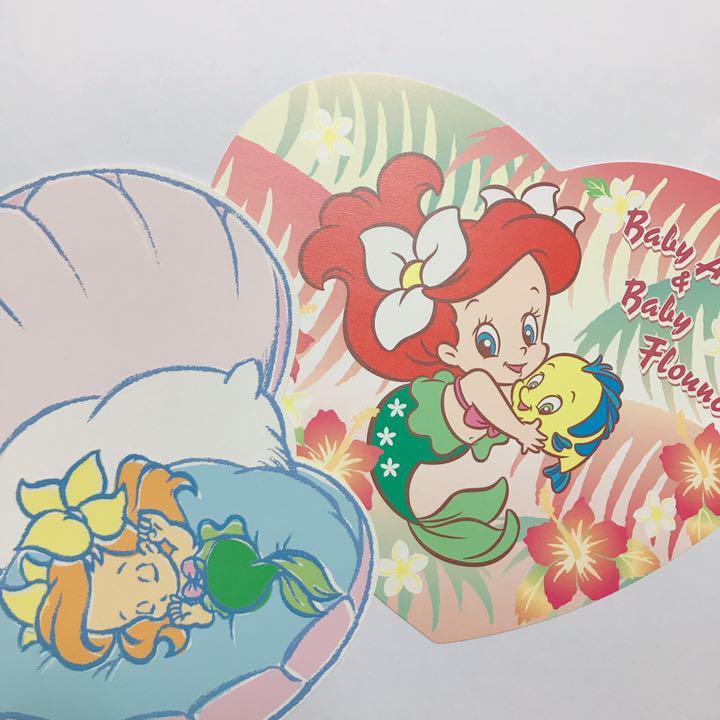 メルカリ ベビーアリエル ポストカード2枚セット コレクション 1 298 中古や未使用のフリマ
