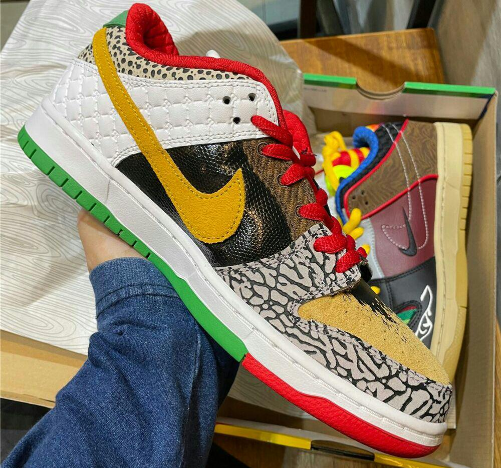 【27.5cm】Nike SBダンクDunk LOW What The Paul