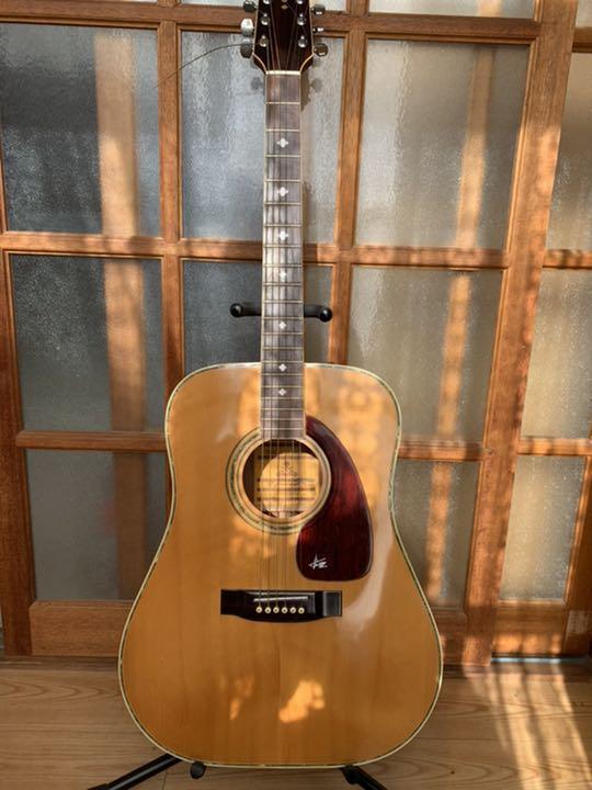Kiso Suzuki Violin Takeharu Guitar 1977 Acoustic Guitar Rare Collaboration Ebay