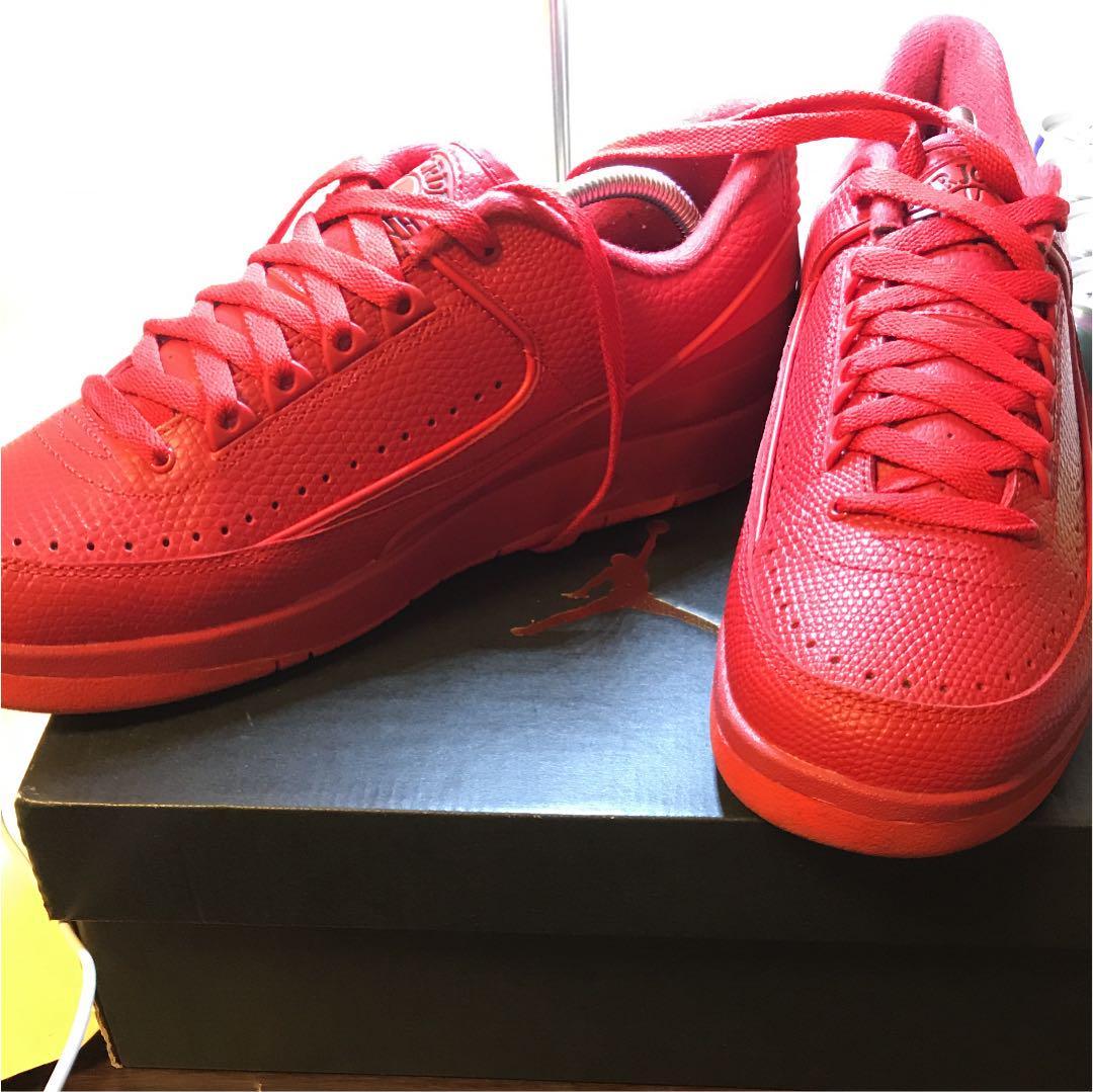 sports shoes 01800 b8167 【NIKE】AIR JORDAN 2 RETRO LOW GYM RED(¥6,500) - メルカリ スマホでかんたん フリマアプリ