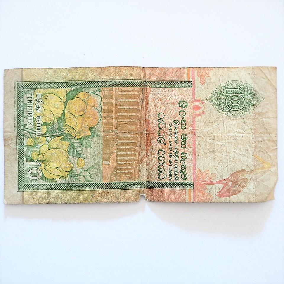 メルカリ - スリランカ旧紙幣10ルピー おまけ硬貨スイスフラン 通貨 ...