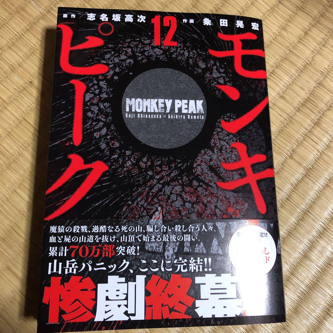 モンキー ピーク 12 巻