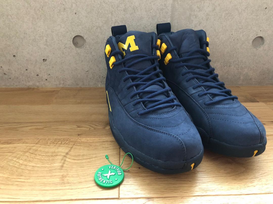 newest 4767e 51fb6 Nike Air Jordan XII Retro 12 Michigan(¥26,300) - メルカリ スマホでかんたん フリマアプリ