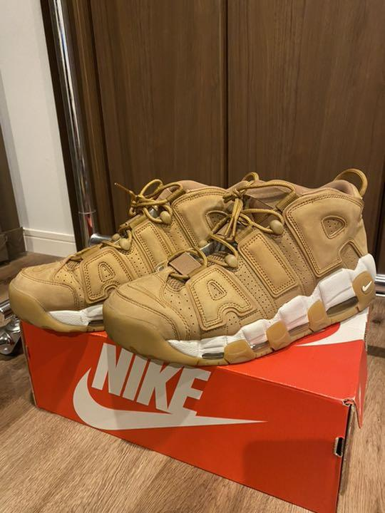 """NIKE AIR MORE UPTEMPO '96 """"WHEAT/FLAX"""