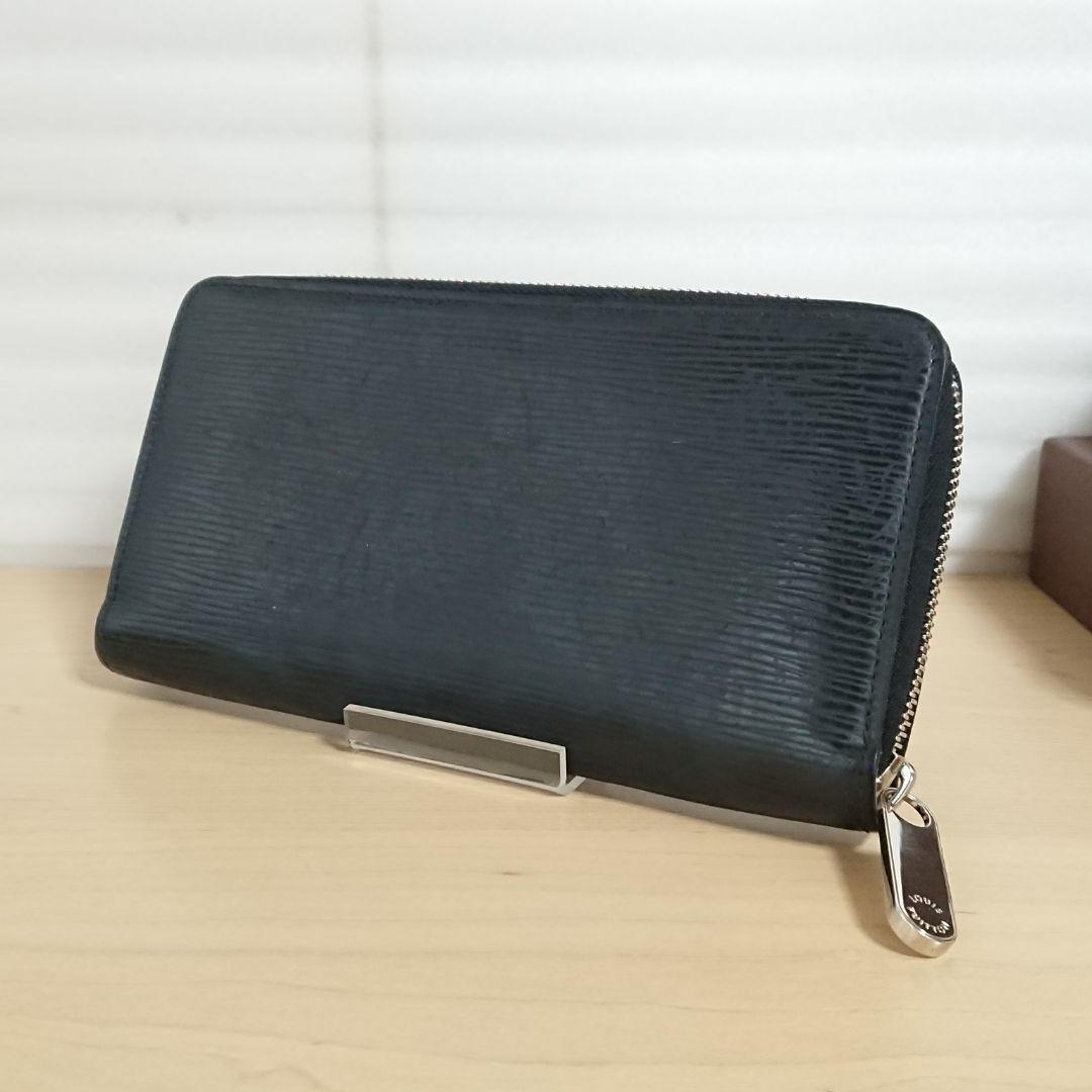 size 40 70c6f c240a 正規品ルイヴィトン 黒エピ ジッピーウォレット 長財布(¥23,000) - メルカリ スマホでかんたん フリマアプリ