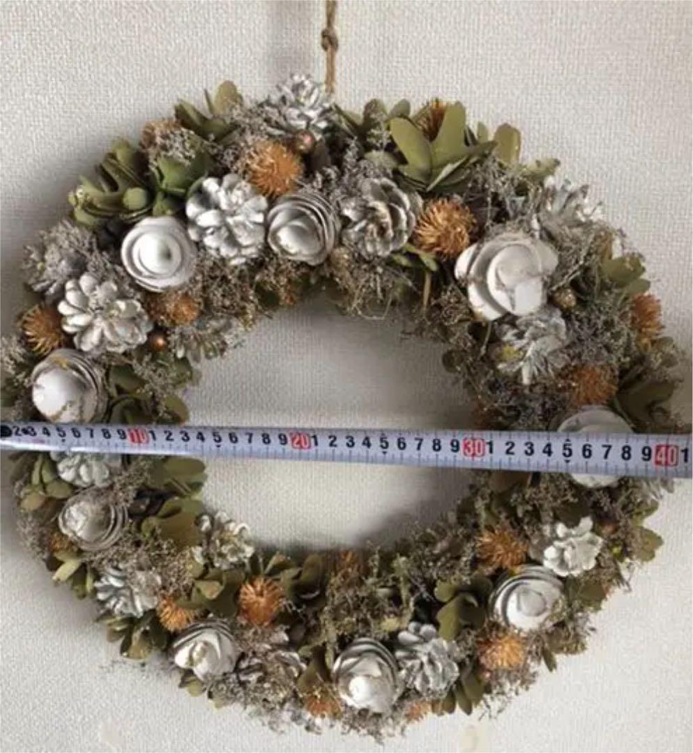 メルカリ - クリスマスリース 42cm (¥3,400) 中古や未使用のフリマ