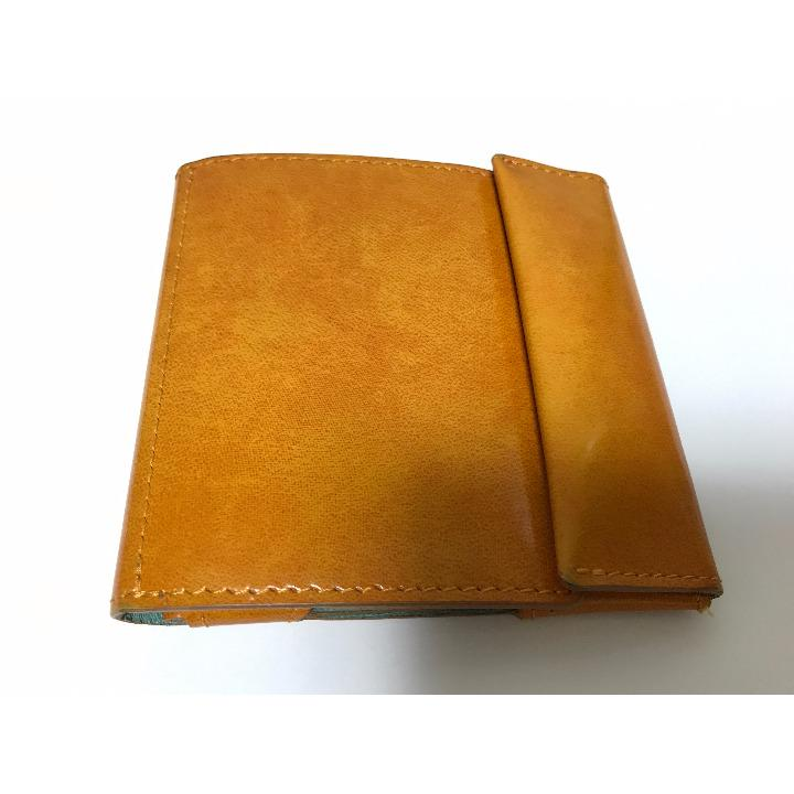 7f41492adadf メルカリ - 中古 abrAsus(アブラサス)薄い財布 classic イエロー 【折り ...