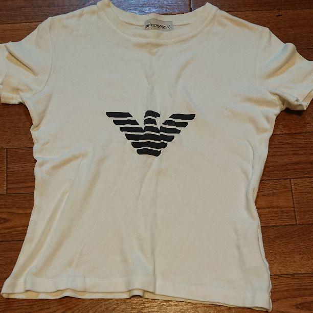 info for 499e0 c682c エンポリオアルマーニ レディース Tシャツ(¥ 1,111) - メルカリ スマホでかんたん フリマアプリ