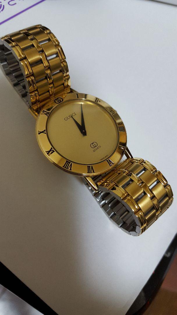 official photos 2ba61 e9d37 グッチヴィンテージ腕時計(¥13,000) - メルカリ スマホでかんたん フリマアプリ