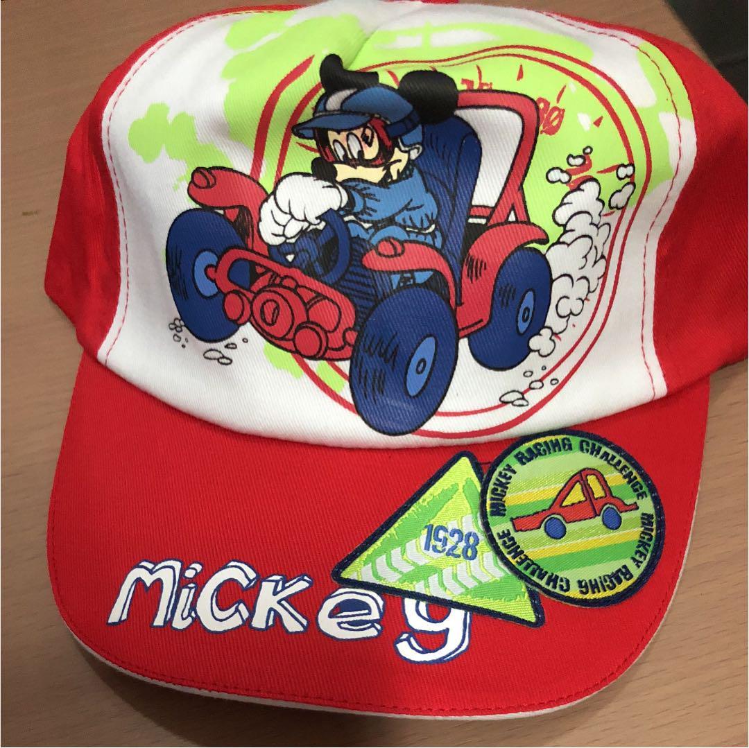 035126d0cf141 メルカリ - ディズニー ミッキー④ 赤 キャップ 帽子 50cm 未使用タグ ...