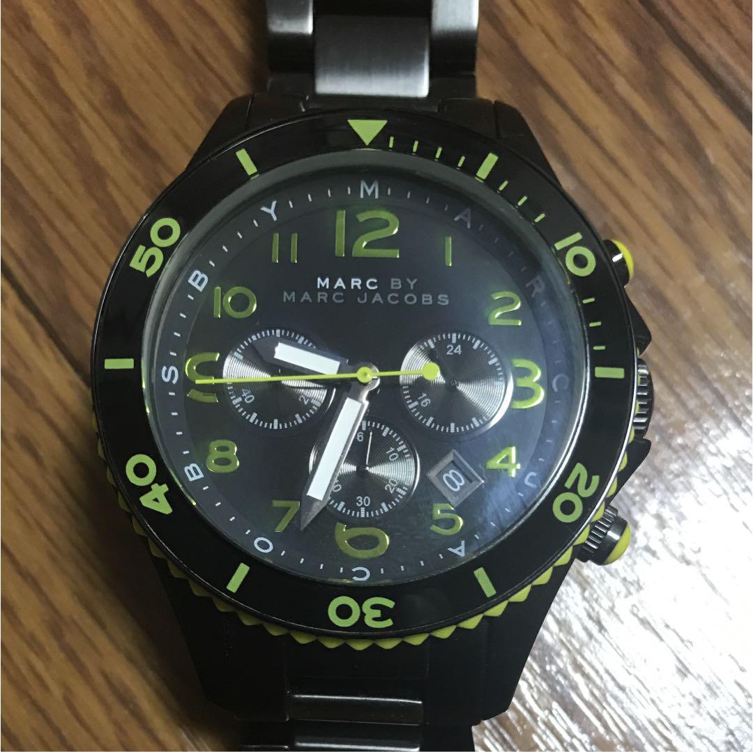 quality design 0668e 10994 マークジェイコブス 腕時計 メンズ(¥10,600) - メルカリ スマホでかんたん フリマアプリ