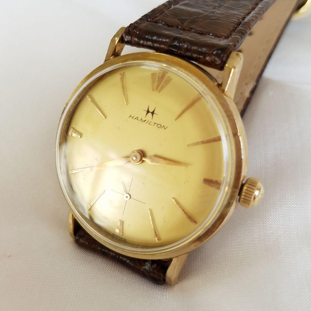 buy online d3f19 4ccbb rapin様専用です。 ハミルトン スモールセコンドヴィンテージ腕時計(¥9,000) - メルカリ スマホでかんたん フリマアプリ