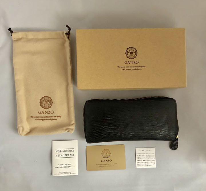 wholesale dealer b56a9 d8d16 GANZOガンゾ LIZARD5 (リザード5)ラウンドファスナー長財布(¥47,000) - メルカリ スマホでかんたん フリマアプリ