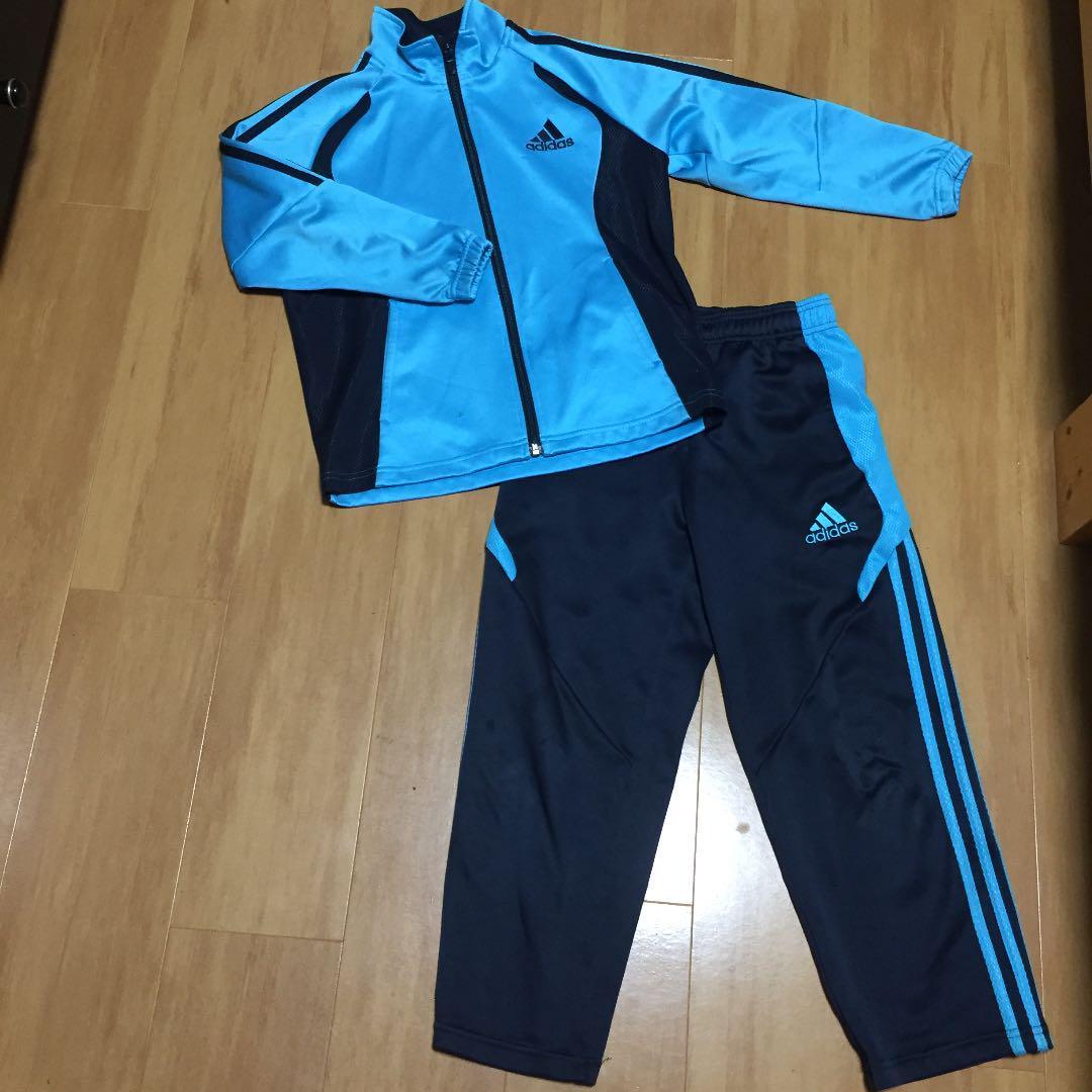 48fe88923d11ca メルカリ - アディダス adidas ジャージ上下 130 サッカー 運動会 ...