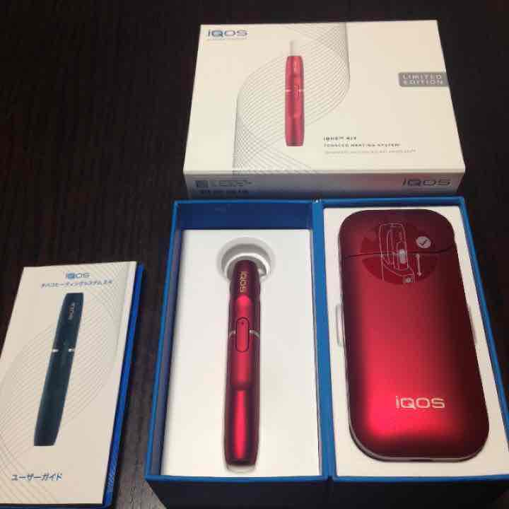 iQOS アイコス (赤)(ボルドーレッド)(¥80,000) , メルカリ スマホでかんたん フリマアプリ