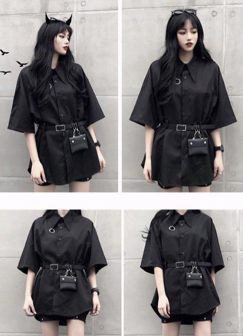 黒 シャツ