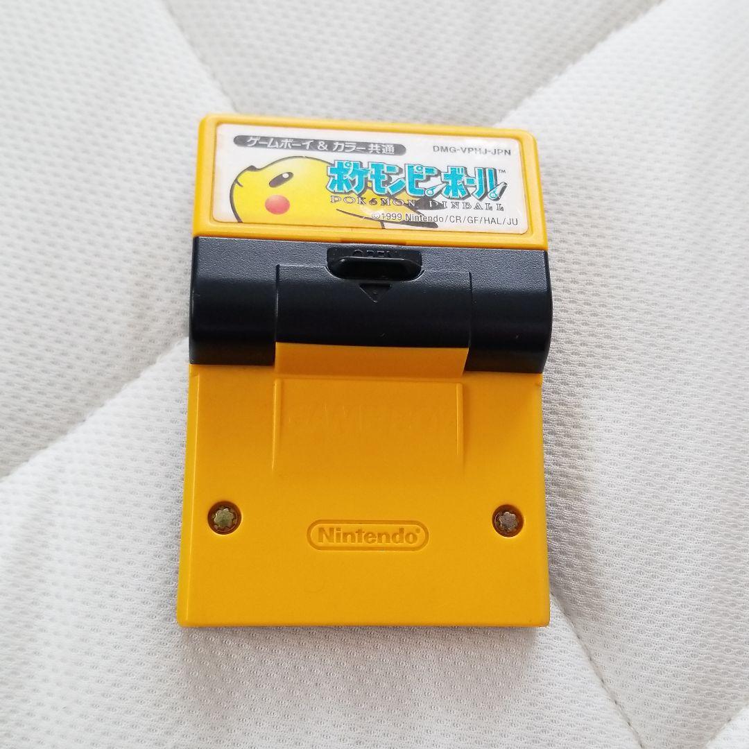 ゲームボーイ ゲームボーイカラー ポケモンピンボール(¥377) , メルカリ スマホでかんたん フリマアプリ