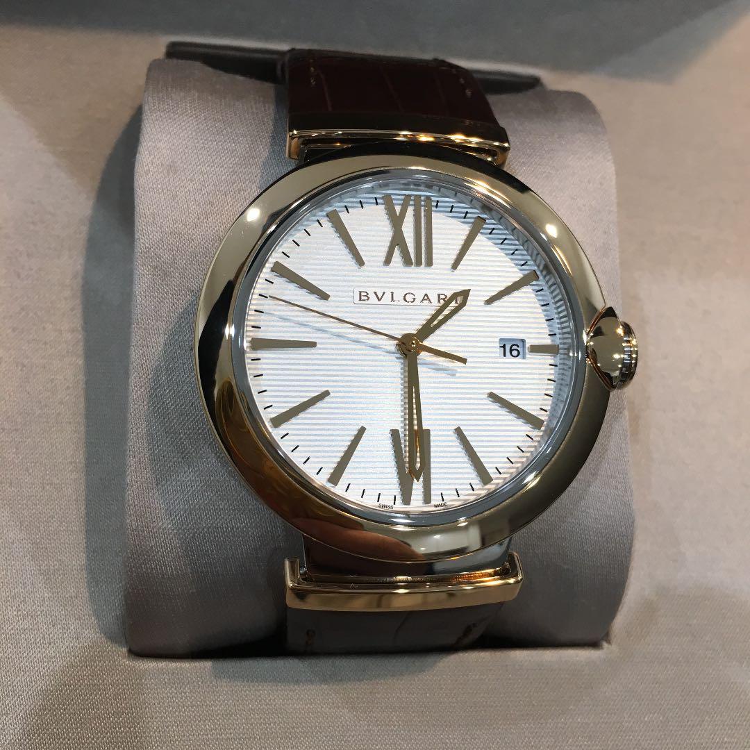 best website 116b4 6f938 新品未使用 ブルガリ ルチェア LU40C 腕時計 BVLGARI(¥380,000) - メルカリ スマホでかんたん フリマアプリ