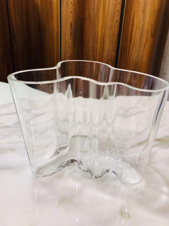 Alvar Aalto アルヴァ・アアルト Iittala 社製 花瓶