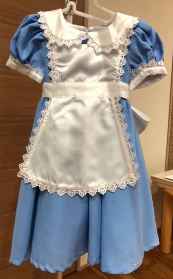 54e466fa1acf4 メルカリ - ディズニーリゾートで購入 アリス 110  フォーマル ドレス ...