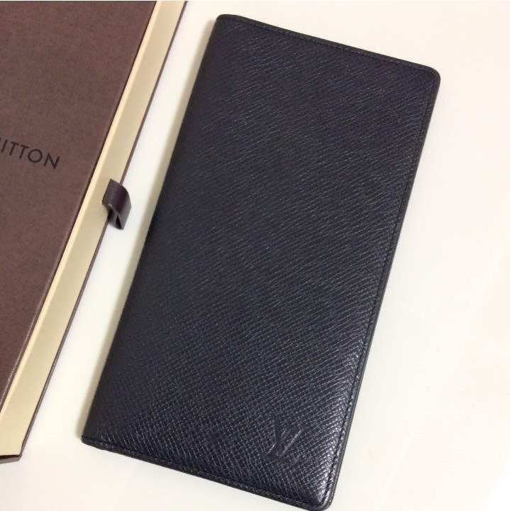 f7e16b07f750 メルカリ - ルイヴィトン タイガ 黒 メンズ 長財布 本物 【ルイ ヴィトン ...