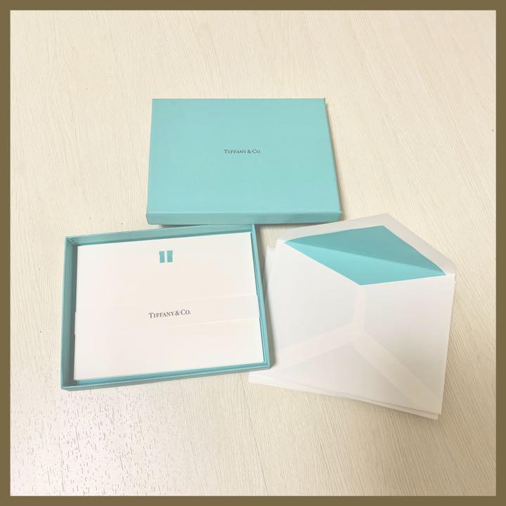brand new 2bb93 cde31 ティファニー レターセット(¥1,500) - メルカリ スマホでかんたん フリマアプリ