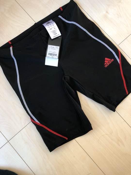 e85472d70d2 メルカリ - adidas アディダス 赤色 水着 競泳 水泳 プール 男の子 160 ...