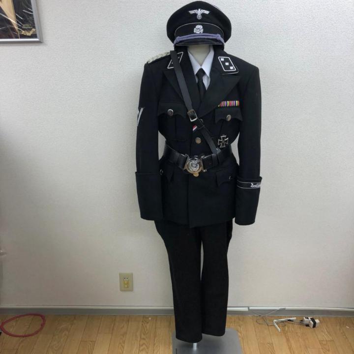 月内割引 ドイツ軍 ナチス親衛隊SS軍服(¥30,000) , メルカリ スマホでかんたん フリマアプリ