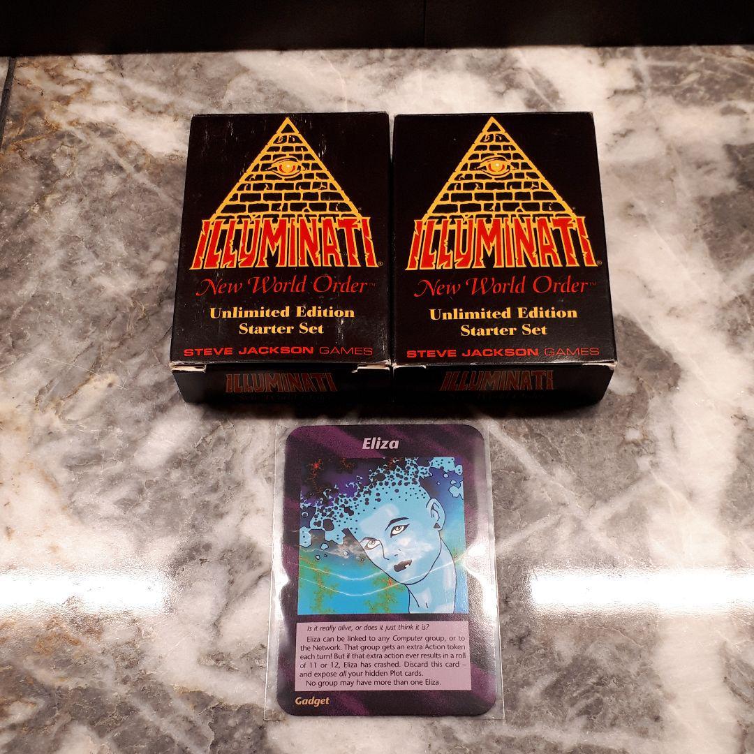 種類 イルミナティ カード