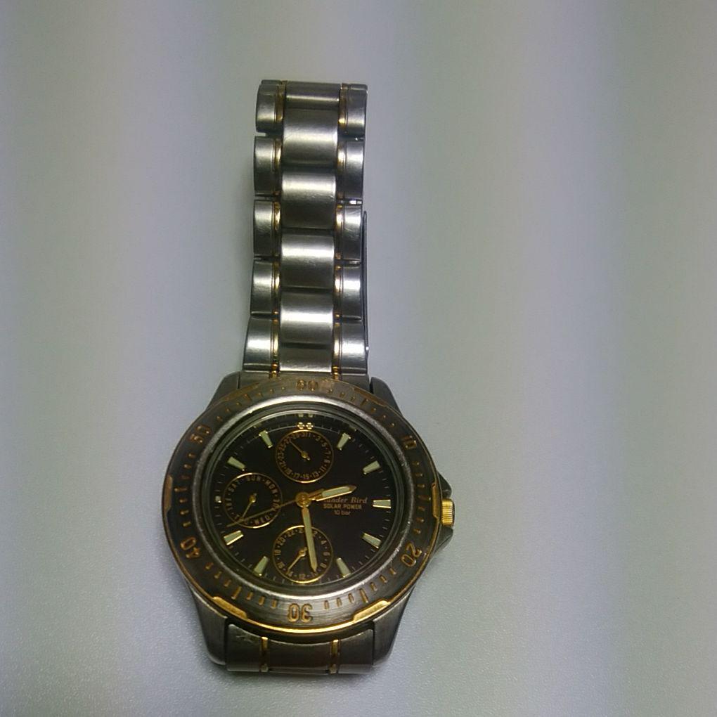 CITIZEN ThunderBird 10bar mens solar watch | eBay