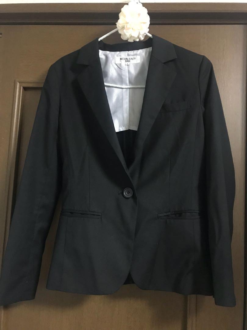 d270a35f73 メルカリ - NATURAL BEAUTY BASIC スーツ ジャケット 【テーラード ...