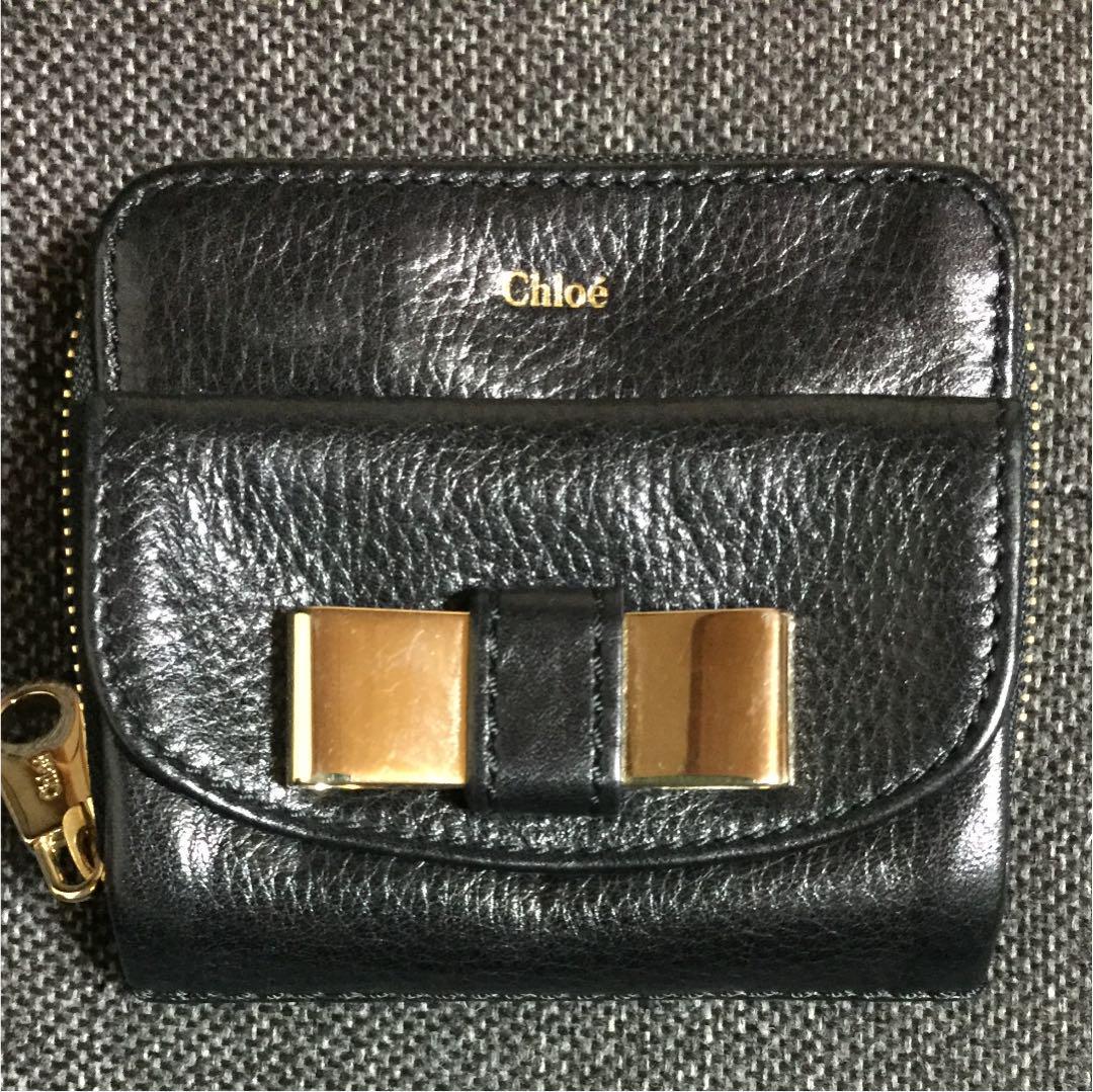 new arrivals f9dc5 4c4db クロエ Chloe 財布 折りたたみ 二つ折り(¥9,500) - メルカリ スマホでかんたん フリマアプリ
