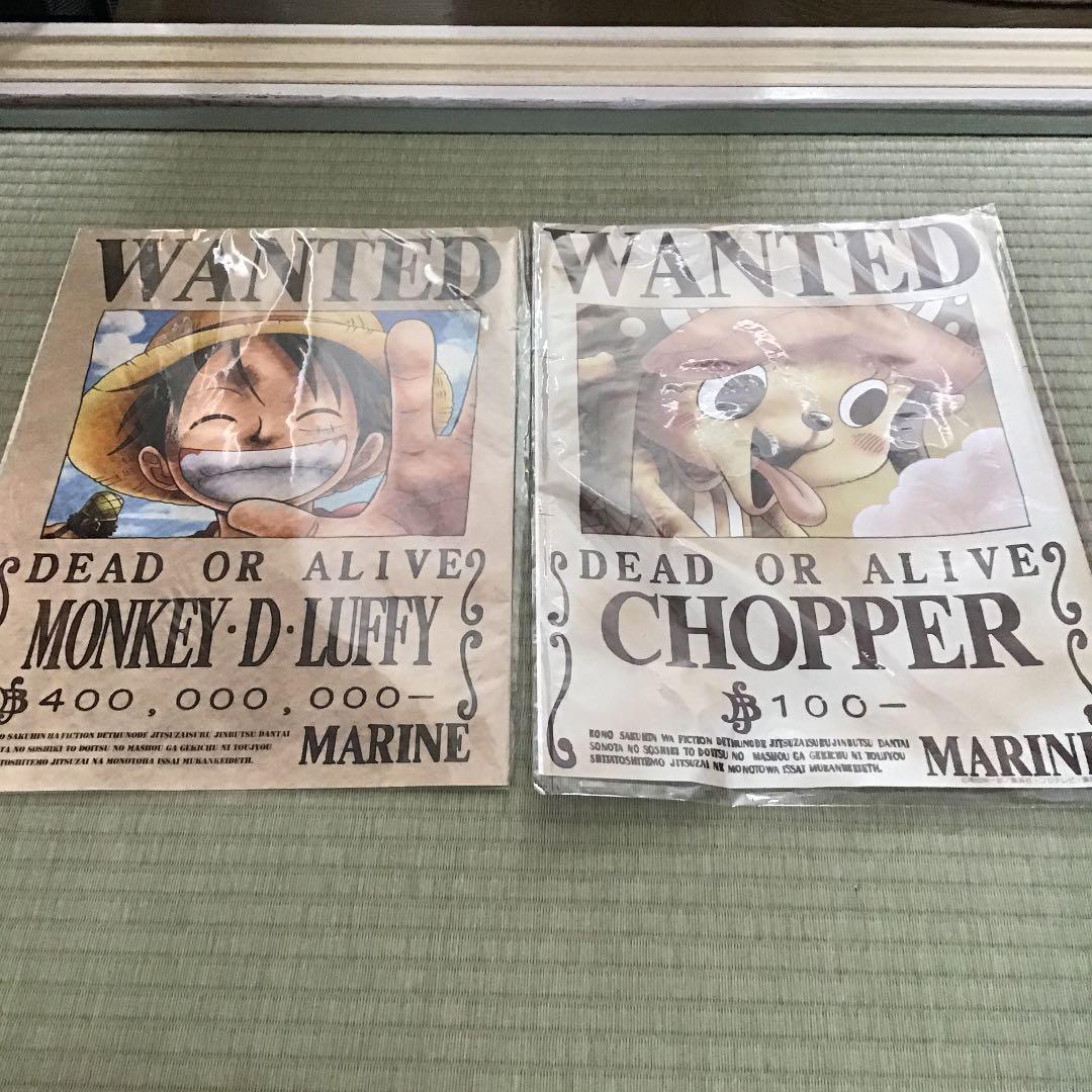 メルカリ ワンピースのルフィとチョッパー壁紙ポスター